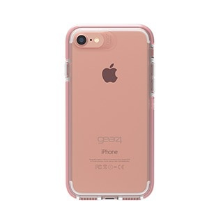 Gear4 D30 Piccadilly Case for iPhone 6/7/8 - Clear / Rose Gold