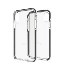 Gear4 Gear4 D30 Piccadilly Case for iPhone X - Clear / Black