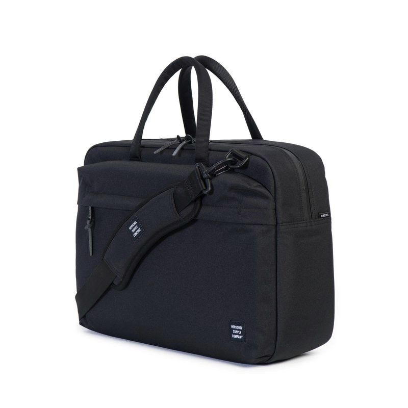 "Herschel Supply Herschel Supply Sandford 15"" Messenger - Black"