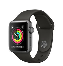 Apple Apple Watch Series 3 GPS 38mm Space Grey Aluminium Case with Grey Sport Band