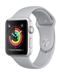 Apple Apple Watch Series 3 GPS 42mm Silver Aluminium Case with Fog Sport Band