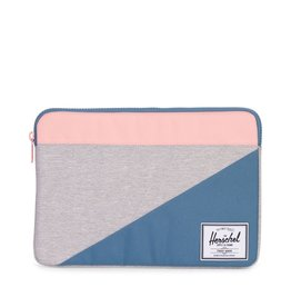 Herschel Supply Herschel Supply Anchor Computer sleeve 13 Inch - Light Grey / Blue / Pink