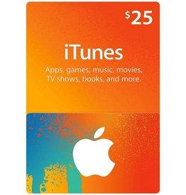 Apple iTunes Gift Card $ 25.00