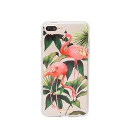 Sonix Sonix Clear Coat Case for iPhone 8/7/6 Plus - Flamingo Garden