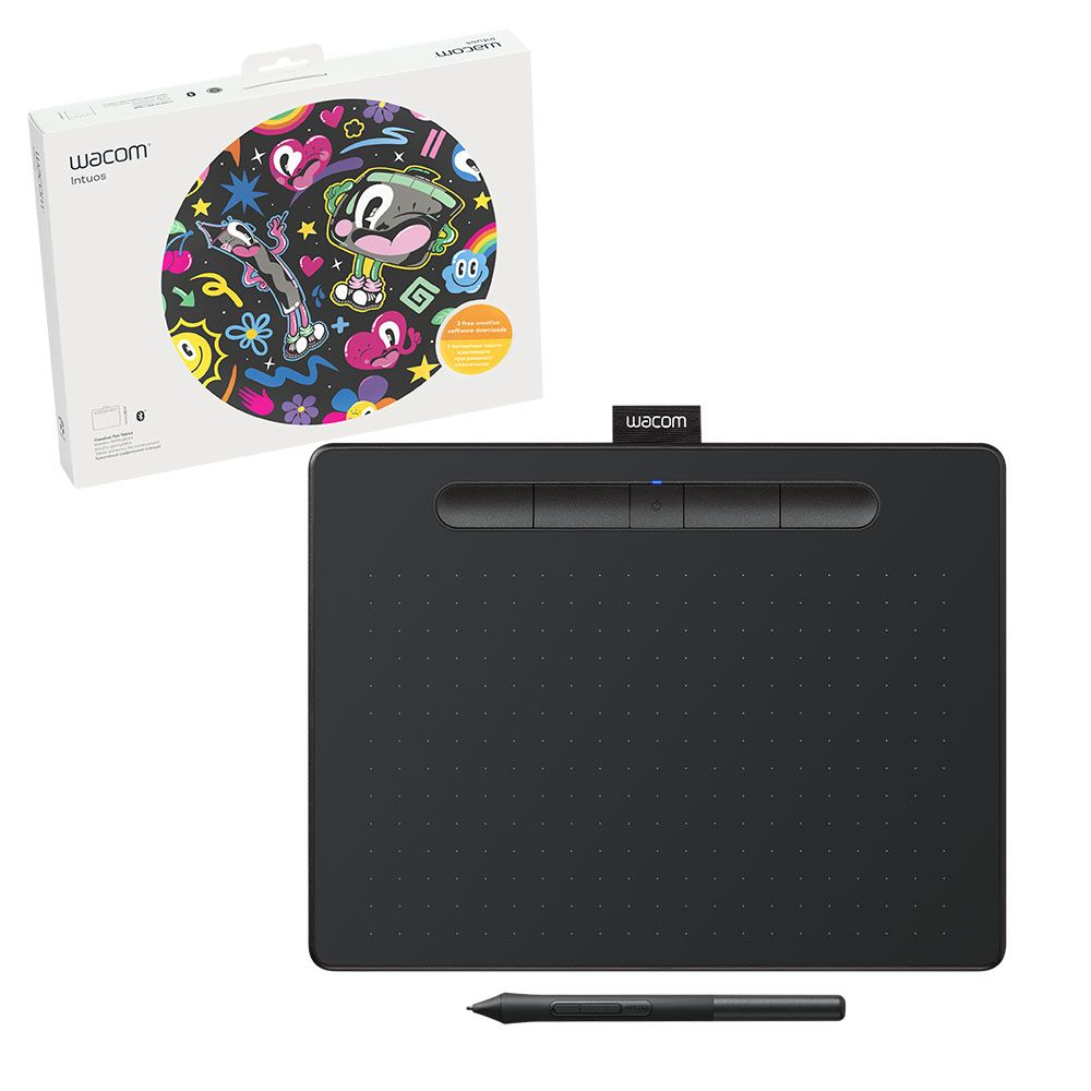 Wacom Wacom Creative Pen Tablet Bluetooth - Medium Black
