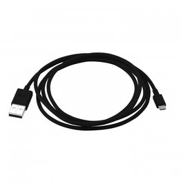PureGear Charge-Sync Cable 4ft Micro USB - Black