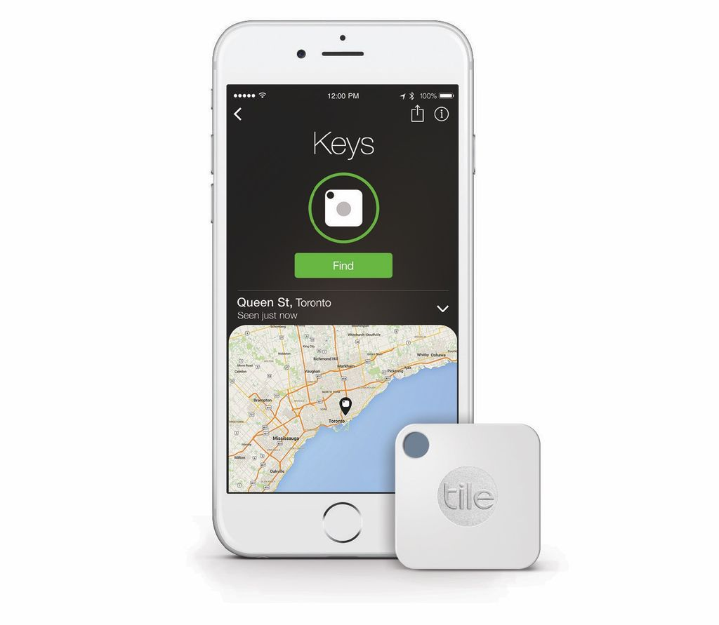 Tile Tile Mate Bluetooth Tracker - 4 pack
