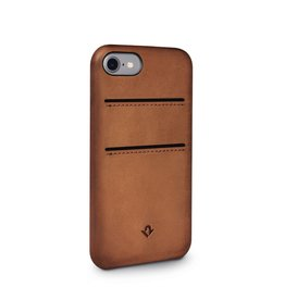 Twelve South Twelve South Relaxed Leather Case with Pockets for iPhone 8/7/6 - Cognac