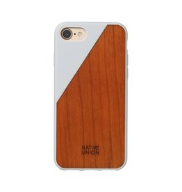 Native Union Native Union Clic Wooden Case for iPhone 8/7 - White