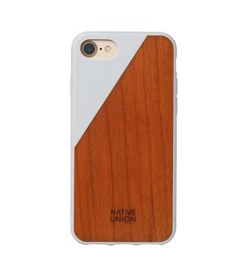 Native Union Native Union Clic Wooden Case for iPhone 8/7 - White