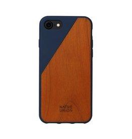 Native Union Native Union Clic Wooden Case for iPhone 8/7 - Marine