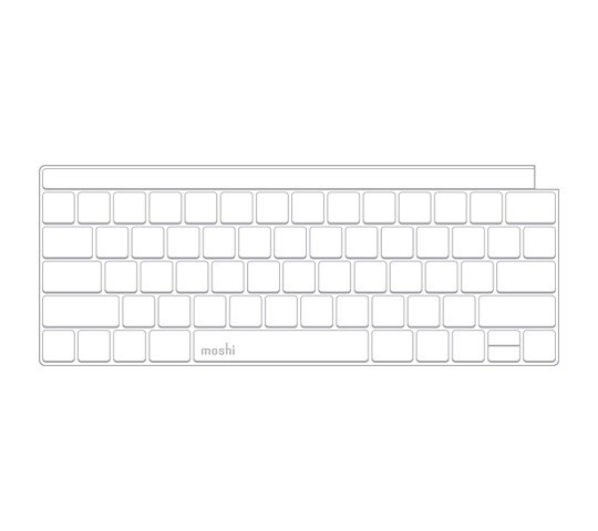Moshi Clearguard for Macbook Pro (2017 Model) with Touchbar