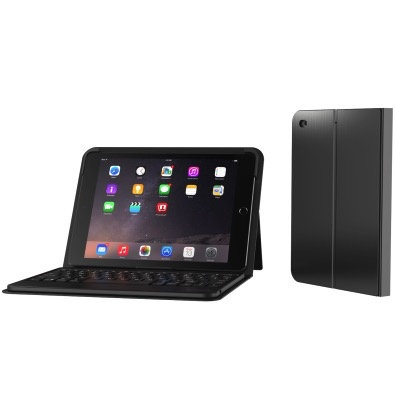 ZAGG Messenger Keyboard Case for All 9.7-inch iPads - Black
