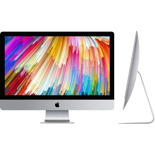 Apple 27-inch iMac with Retina 5K display: 3.8GHz quad-core Intel Core i5, 8GB, 2TB Fusion