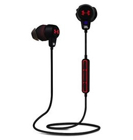 JBL JBL Under Armour Wirless In-Ear BT Sport Heaphones - Black / Red