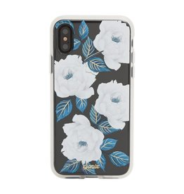 Sonix Sonix Clear Coat Case for iPhone X - Sapphire Bloom