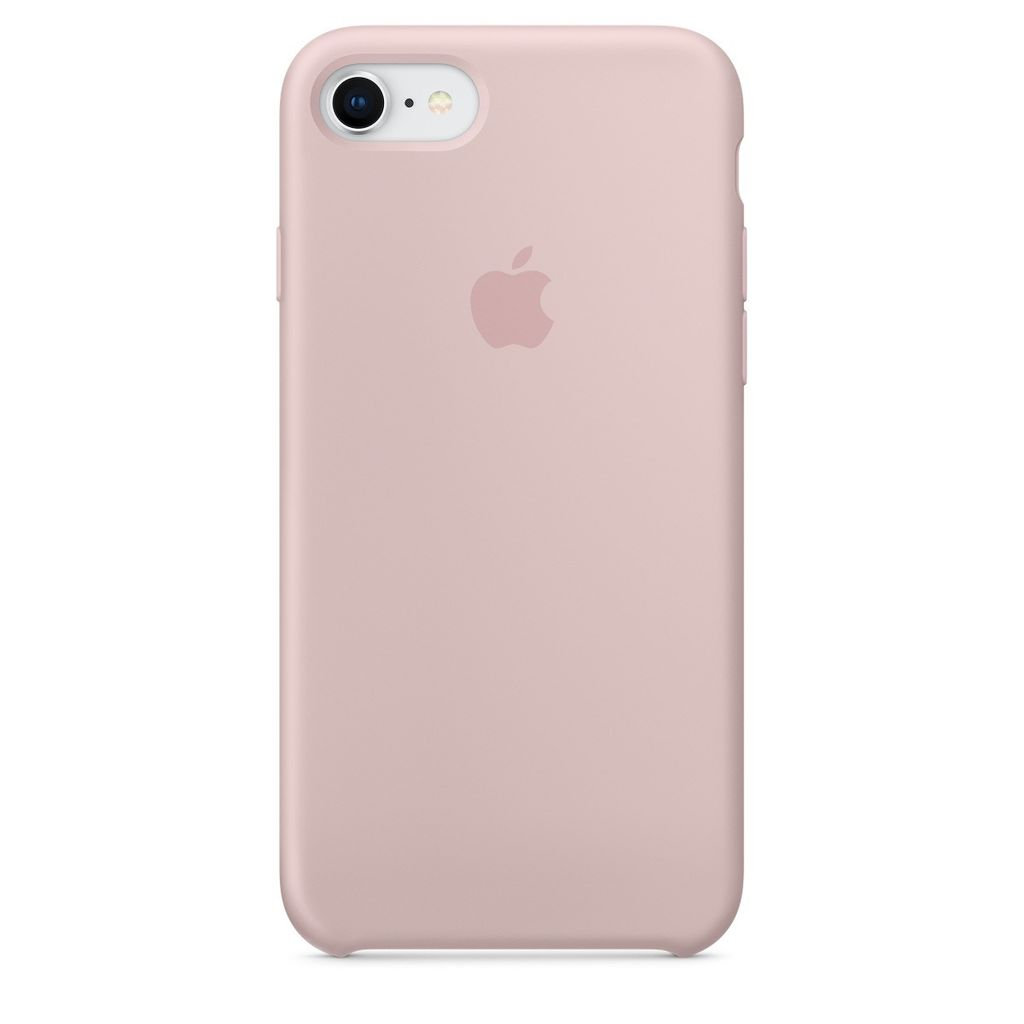 Apple Apple iPhone 8/7 Silicone Case - Pink Sand