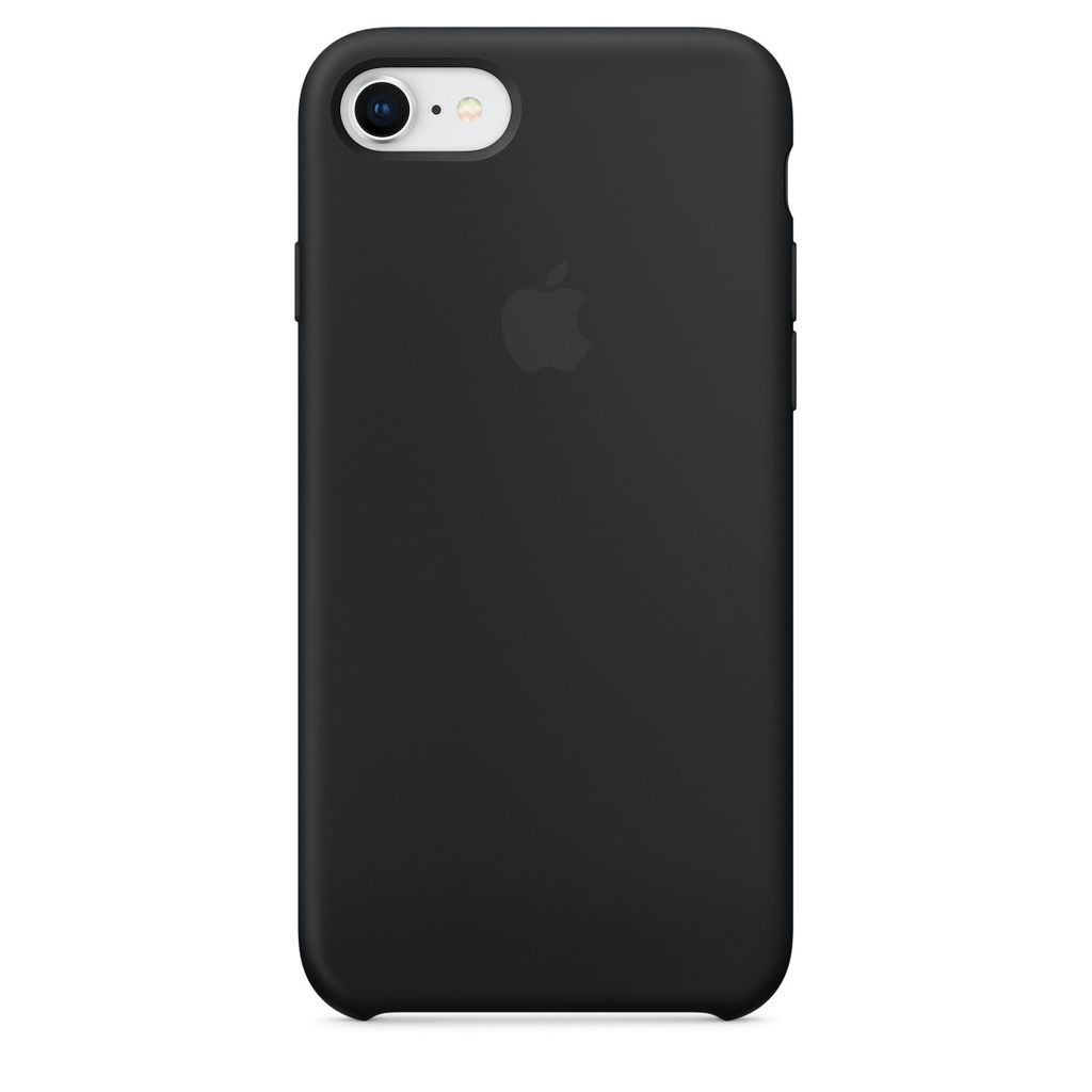 Apple Apple iPhone 8/7 Silicone Case - Black