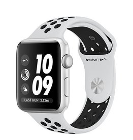 Apple Apple Watch Nike+ GPS 42mm Silver Aluminium Case with Pure Platinum/Black Nike Sport Band