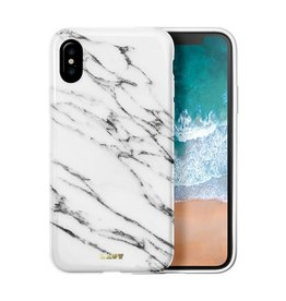 Laut Huex Elements Case for iPhone X  - White Marble