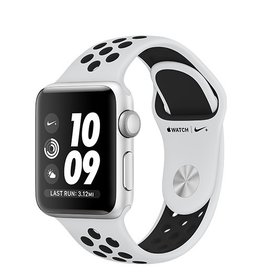 Apple Apple Watch Nike+ GPS 38mm Silver Aluminium Case with Pure Platinum/Black Nike Sport Band