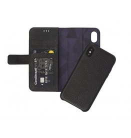 Decoded 2-in-1 Wallet Case for iPhone XS/X - Black