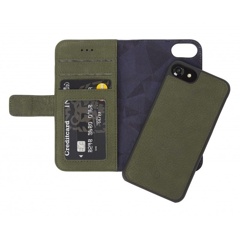 Decoded 2-in-1 Wallet Case for iPhone 8/7/6 - Green