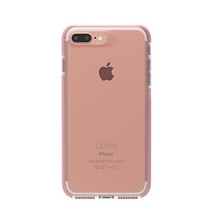 Gear4 D30 Piccadilly Case for iPhone 8/7/6 Plus - Clear / Rose Gold