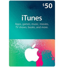 Apple iTunes Gift Card $ 50.00