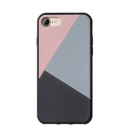 Native Union Native Union Clic Marquetry Case for iPhone 8/7 - Rose / Light Blue