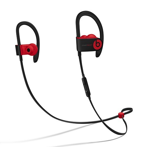 Beats Beats Powerbeats3 Wireless Earphones - Defiant Black / Red