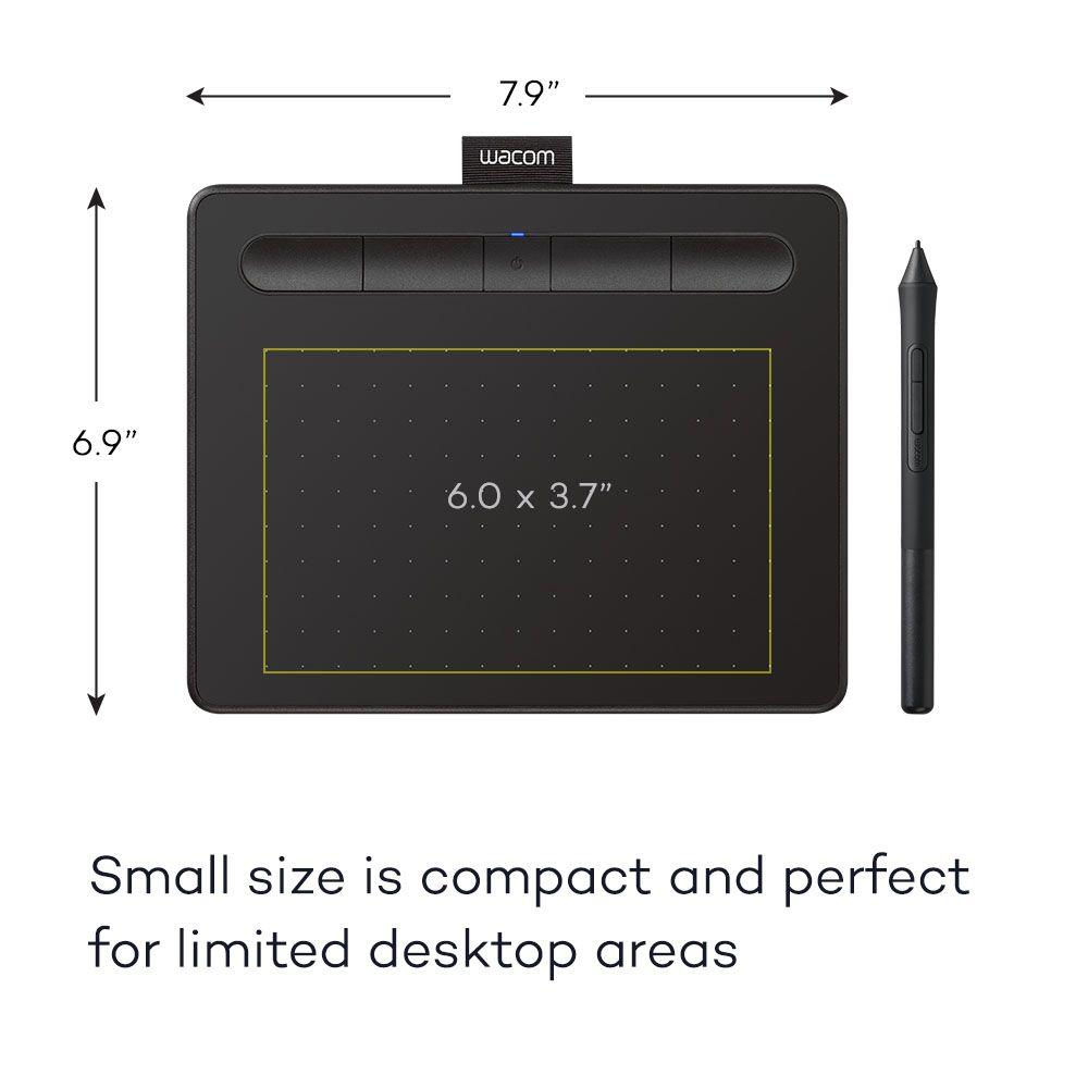 Wacom Wacom Creative Pen Tablet Bluetooth - Small Black