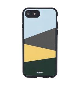Bondir Clear Coat Case for iPhone 8/7/6 - Block