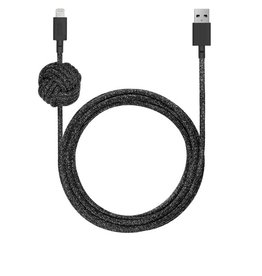 Native Union Native Union 3M USB to Lightning Knot Night Cable - Cosmos Black