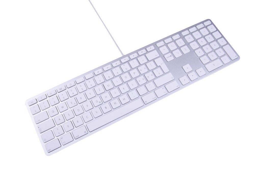 LMP USB Full-Size Mac Keyboard - Silver