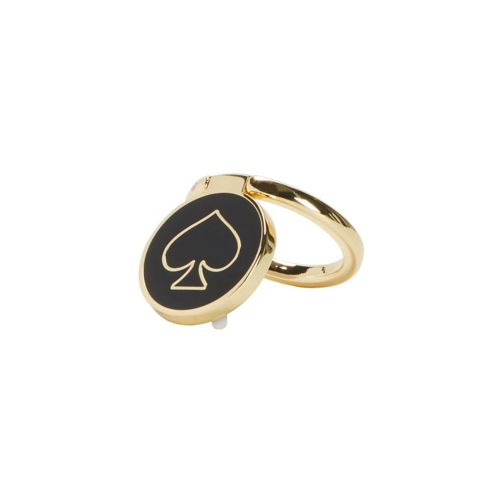 kate spade new york kate spade Stability Ring - Gold / Black Enamel