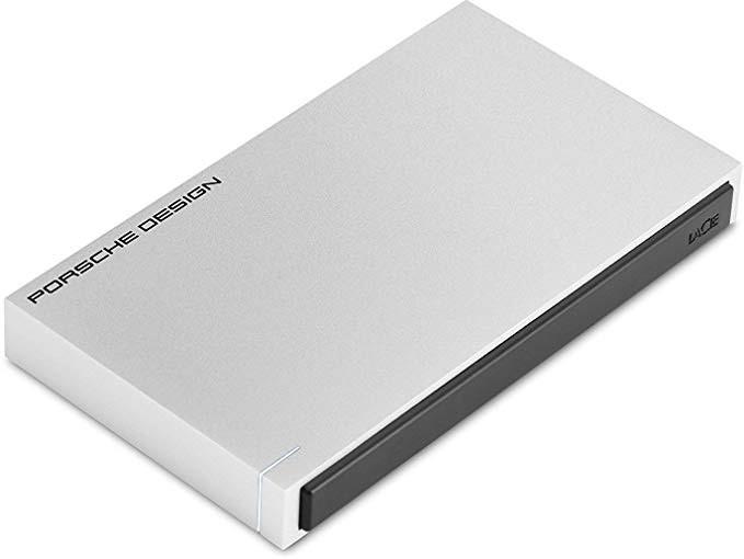 Lacie LaCie Porsche Mobile 2TB Drive Silver USB 3.0 & USB-C