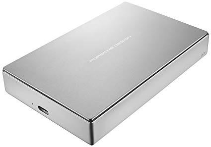 Lacie LaCie Porsche Mobile 4TB Drive USB-C / USB 3.1