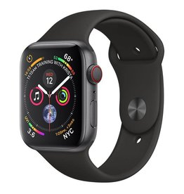 Apple Watch Series 4 GPS + Cellular, 44mm Space Grey Aluminium Case with Black Sport Band Deposit (Non-refundable)