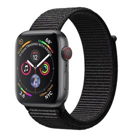 Apple Watch Series 4 GPS + Cellular, 44mm Space Grey Aluminium Case with Black Sport Loop Deposit (Non-refundable)