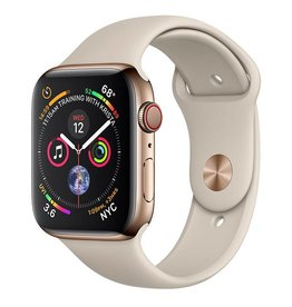 Apple Watch Series 4 GPS + Cellular, 44mm Gold Stainless Steel Case with Stone Sport Band Deposit (Non-refundable)