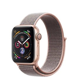 AppleWatch Series4 GPS, 40mm Gold Aluminium Case with Pink Sand Sport Loop Deposit (Non-refundable)