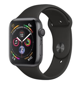 AppleWatch Series4 GPS, 44mm Space Grey Aluminium Case with Black Sport Band Deposit (Non-refundable)