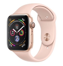 AppleWatch Series4 GPS, 44mm Gold Aluminium Case with Pink Sand Sport Band Deposit (Non-refundable)