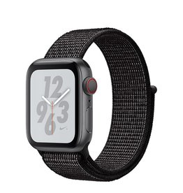AppleWatch Nike+ Series4 GPS+Cellular, 40mm Space Grey Aluminium Case with Black Nike Sport Loop Deposit (Non-refundable)