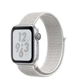 AppleWatch Nike+ Series4 GPS, 40mm Silver Aluminium Case with Summit White Nike Sport Loop Deposit (Non-refundable)