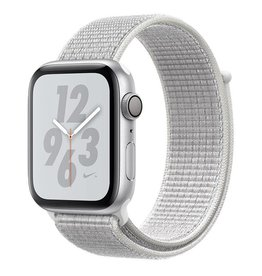 Apple Watch Nike+ Series 4 GPS, 44mm Silver Aluminium Case with Summit White Nike Sport Loop Deposit (Non-refundable)