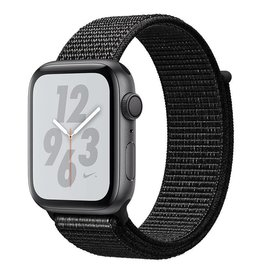 Apple Watch Nike+ Series 4 GPS, 44mm Space Grey Aluminium Case with Black Nike Sport Loop Deposit (Non-refundable)