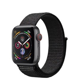 Apple Apple Watch Series 4 GPS + Cellular, 40mm Space Grey Aluminium Case with Black Sport Loop