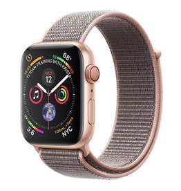 Apple Apple Watch Series 4 GPS + Cellular, 44mm Gold Aluminium Case with Pink Sand Sport Loop